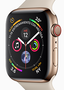 Apple Watch Series 4 Gold Macstore