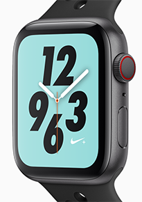 Apple Watch Series 4 Nike Macstore