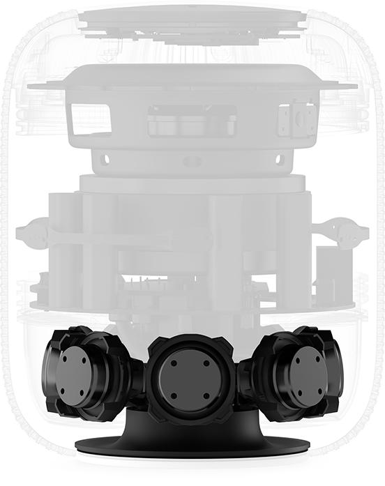 estructura bocinas HomePod Mac Apple Macstore