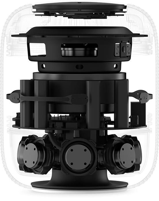 estructura interna HomePod Mac Apple Macstore
