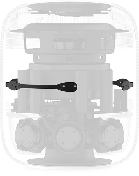 estructura Microfonos HomePod Mac Apple Macstore
