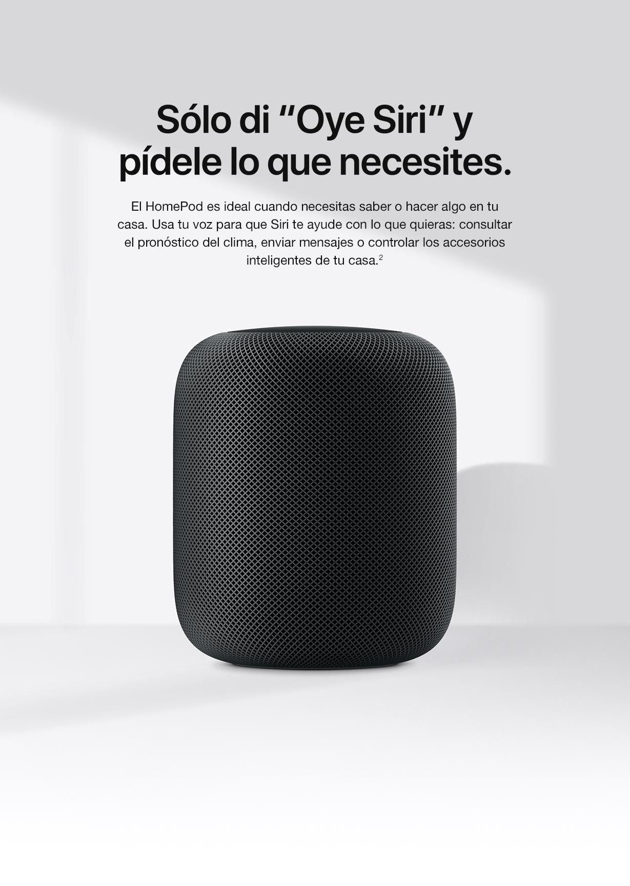 HomePod oye Siri top Macstore