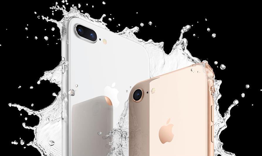 iPhone 8 contra agua