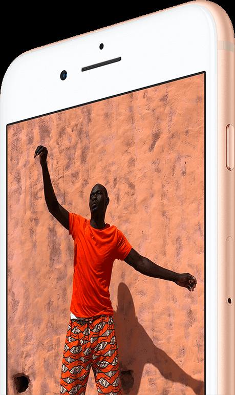 iphone8 Retina HD con True Tone