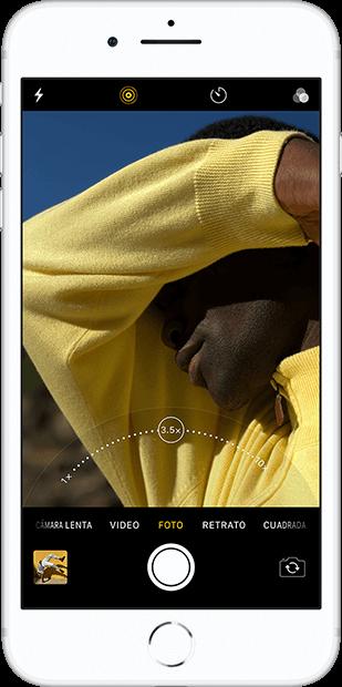 iphone8 illuminación retrato macstore