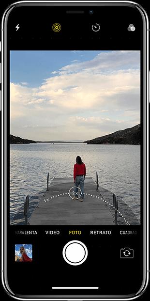 iPhone X Zoom óptico MacStore