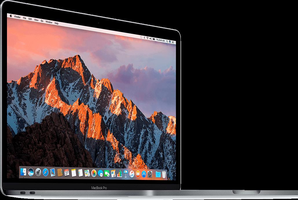 MacBook Pro abierta MacStore