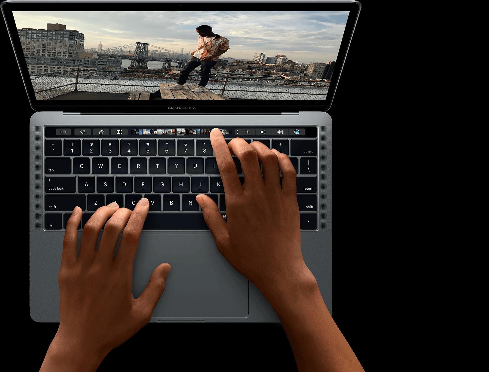 MacBook Pro usando MacStore