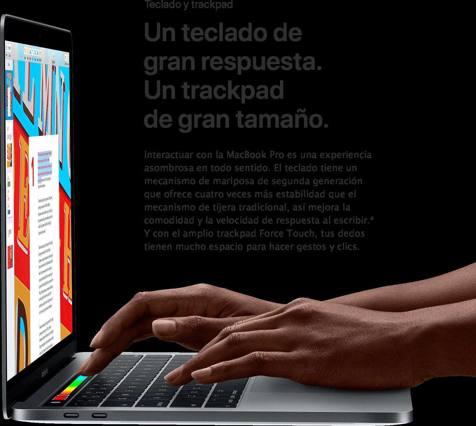 MacBook Pro Teclado y Trackpad MacStore
