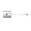 Adaptador Adam Elements Mini DisplayPort a HDMI 4K, Plata