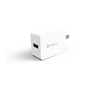 Adaptador De Corriente Adam Elements OMNIA P1 QC3.0 USB 18W - US Blanc