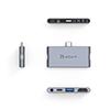 Adaptador Adam Elements CASA i4 USB-C con 4 Puertos p/iPad Pro GE
