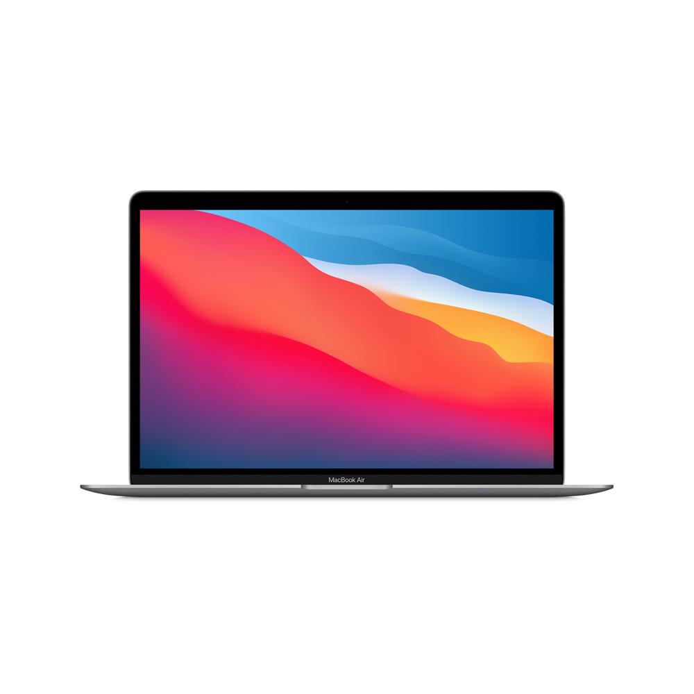 """MacBook Air 13"""" MGN73LA/A Chip M1 CPU8/GPU8/8GB RAM/512GB Gris Espacia"""