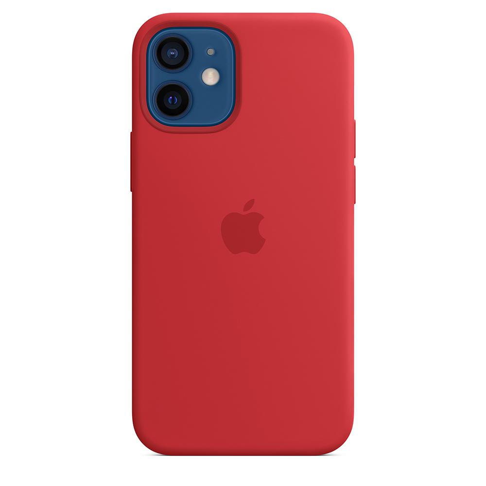 Funda Apple iPhone 12 Mini Silicon MagSafe (PRODUCT)RED