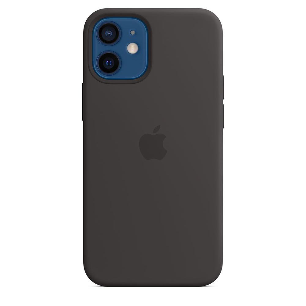 Funda Apple iPhone 12 Mini Silicon MagSafe Negro