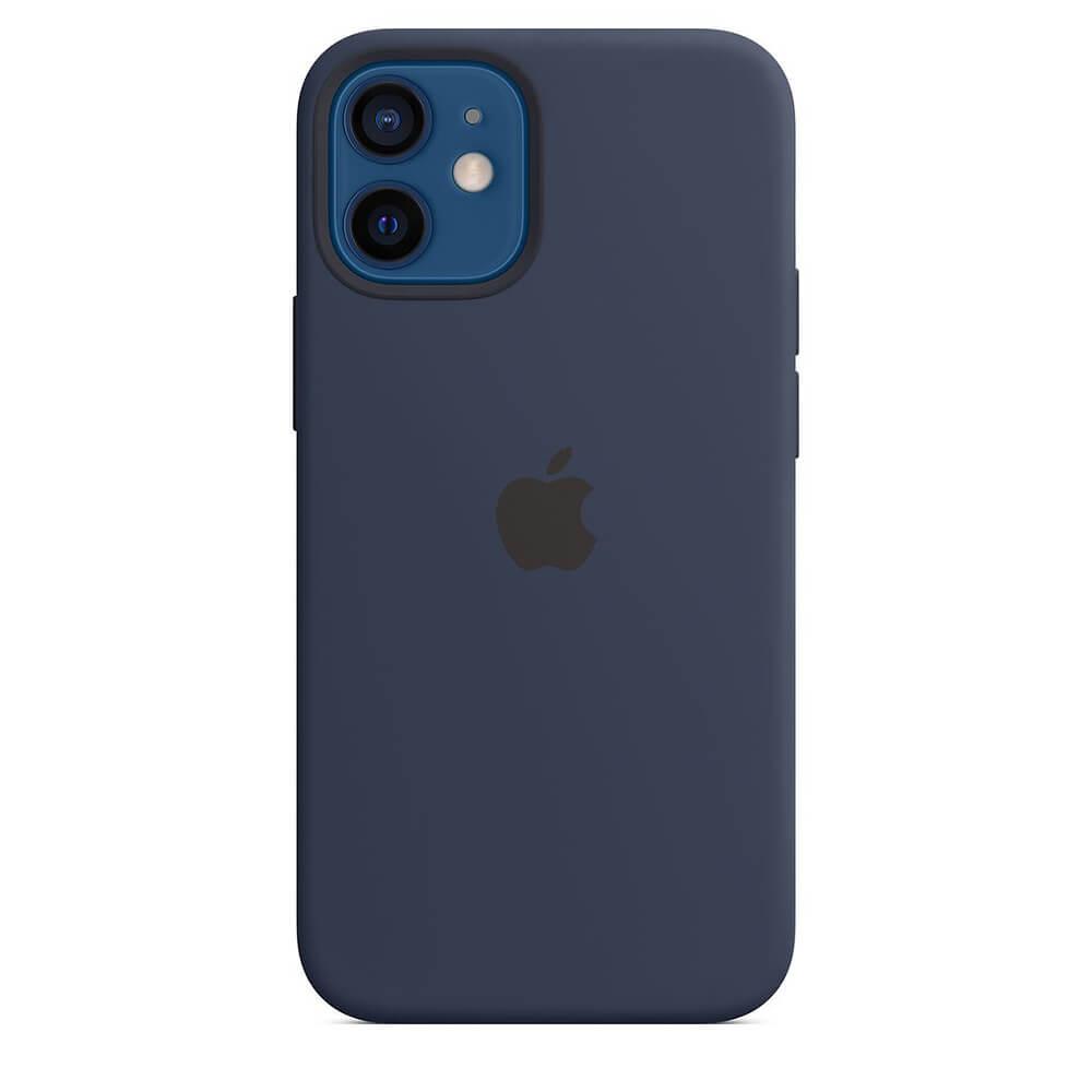 Funda Apple iPhone 12 Mini Silicon MagSafe Azul Marino Oscuro