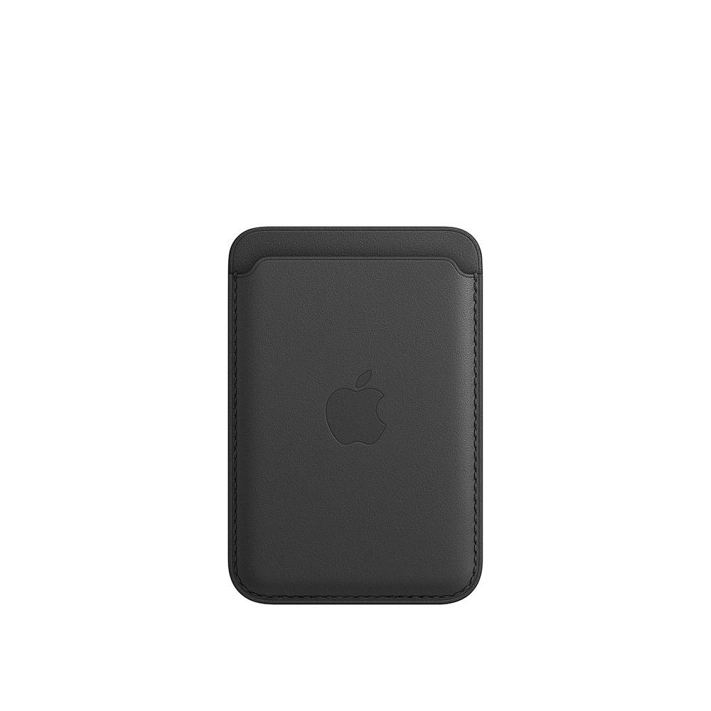 Cartera Apple iPhone Leather MagSafe Negro