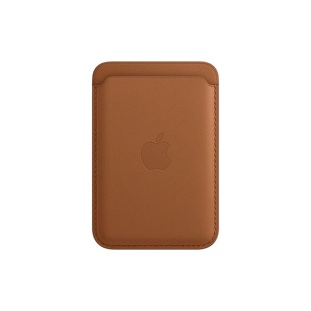 Cartera Apple iPhone Leather MagSafe Café Cuero