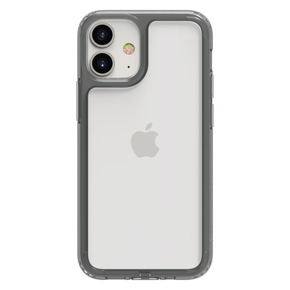Funda PATCHWORKS Lumina 2020 iPhone 12 Mini (5.4) Transparente/Negro