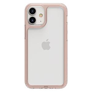 Funda PATCHWORKS Lumina 2020 iPhone 12  Mini (5.4) Transparente/Rosa
