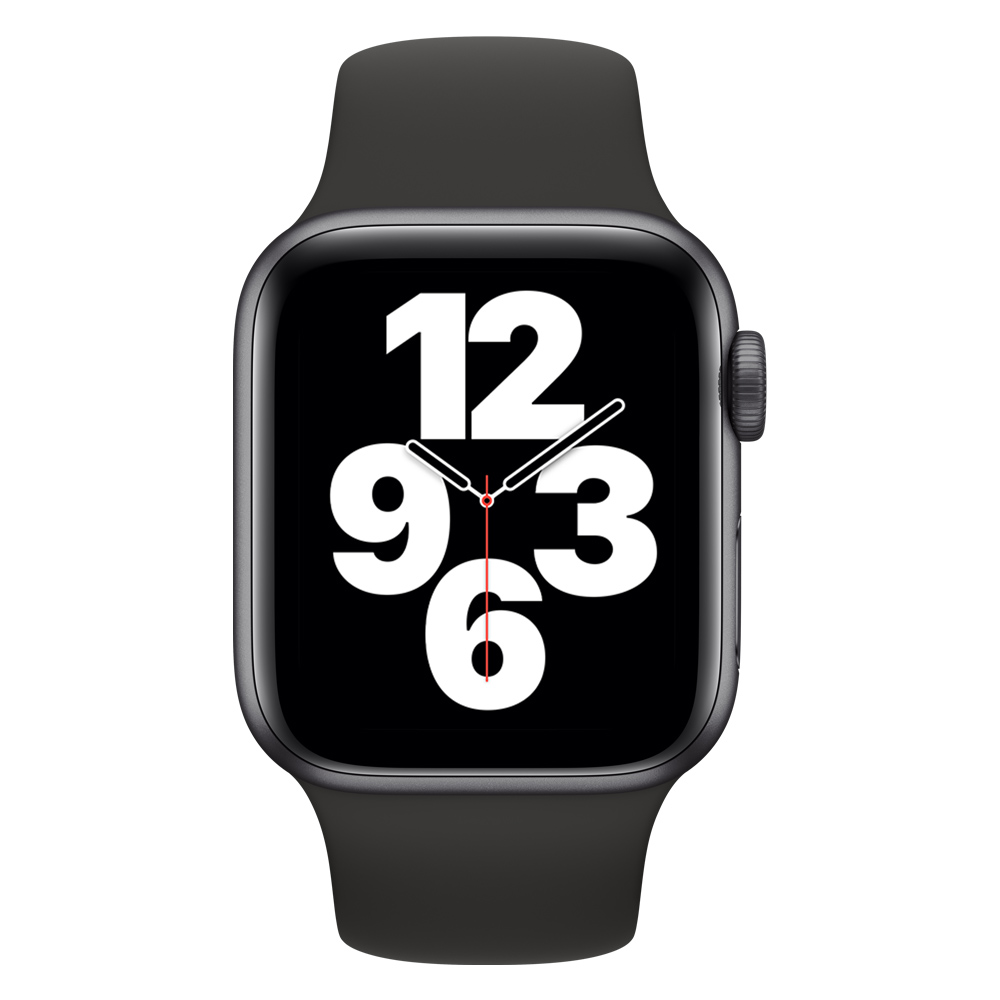 Apple Watch MYDP2LZ/A SE GPS 40mm Alum Gris Espacial Correa Dep Negra