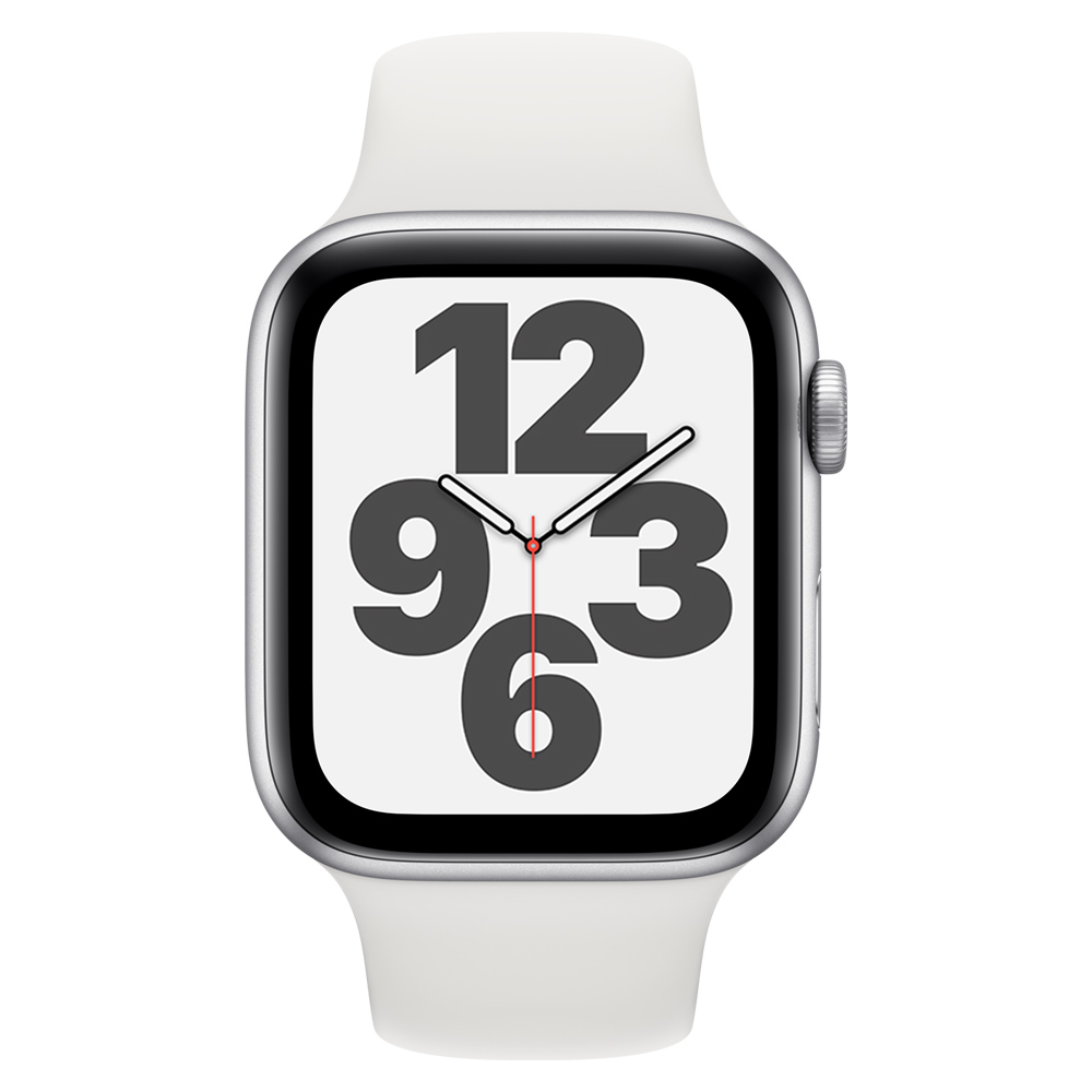 Apple Watch MYDM2LZ/A SE GPS 40mm Aluminio Plata Correa Dep Blanca