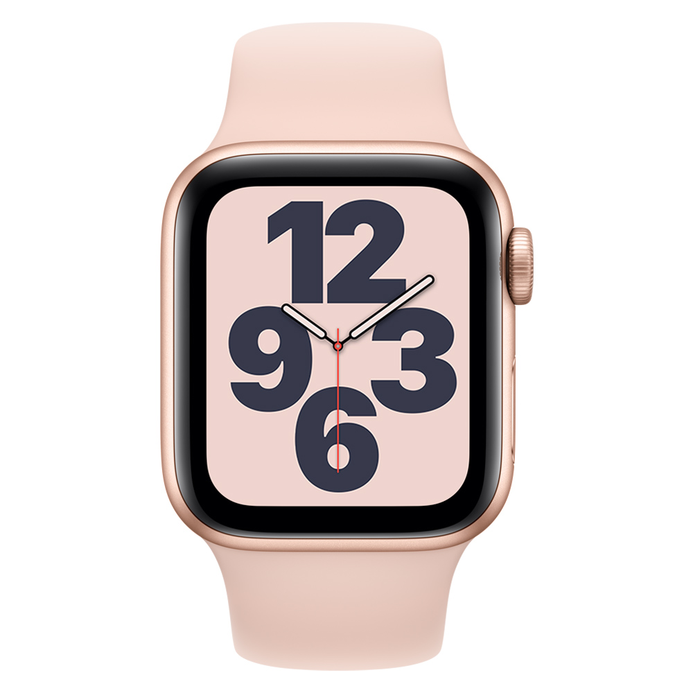 Apple Watch MYDN2LZ/A SE GPS 40mm Aluminio Oro Correa Dep Rosa Arena