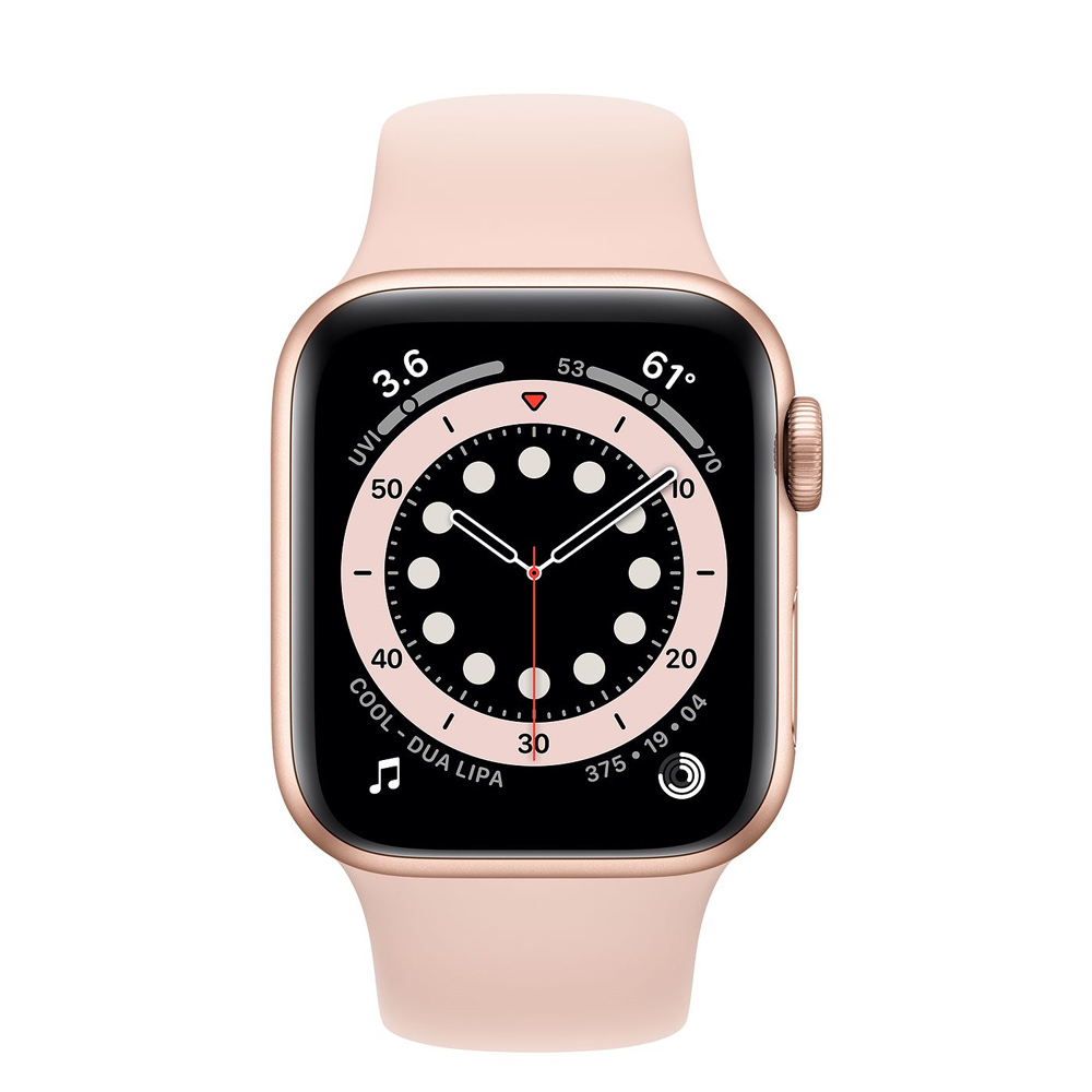 Apple Watch MG123LZ/A S6 GPS 40mm Aluminio Oro Correa Dep Rosa Arena