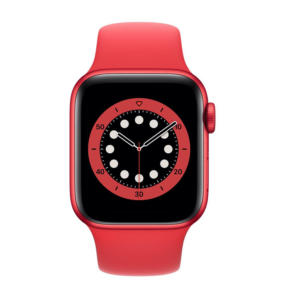 Apple Watch M00A3LZ/A S6 GPS 40mm Alum (PRODUCT RED) Correa Dep Roja