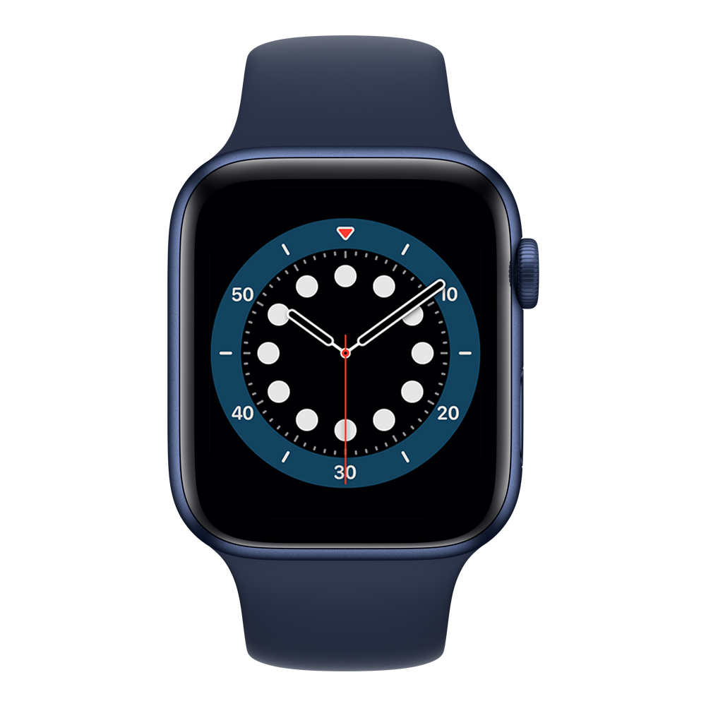 Apple Watch MG143LZ/A S6 GPS 40mm Aluminio Azul Correa Dep Azul Marino