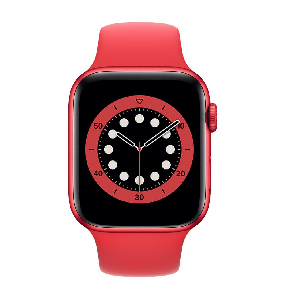 Apple Watch M00M3LZ/A S6 GPS 44mm Alum (PRODUCT RED) Correa Dep Roja