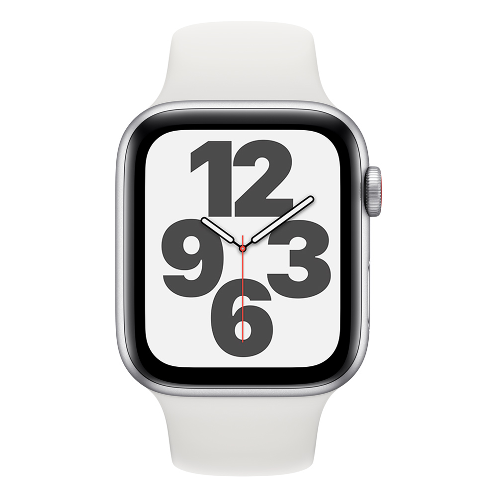 Apple Watch MYE82LZ/A SE GPS+Cell 40mm Alum Plata Correa Dep Blanca