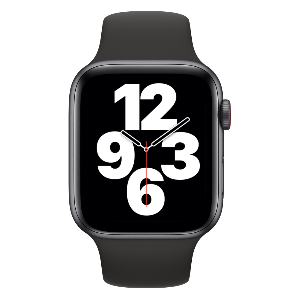 Apple Watch MYER2LZ/A SE GPS+Cell 44mm Alum Gris Esp Correa Dep Negra
