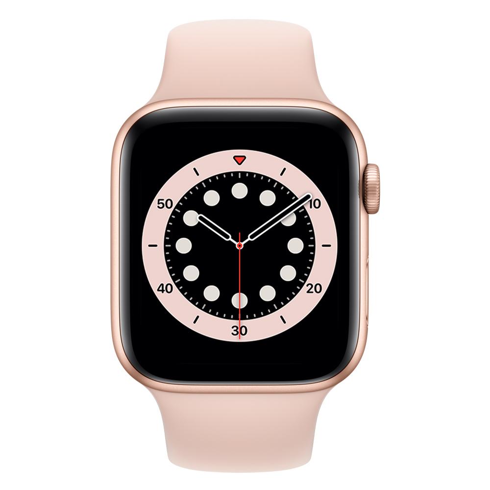 Apple Watch M02P3LZ/A S6 GPS+Cell 40mm Alum Oro Correa Dep Rosa Arena