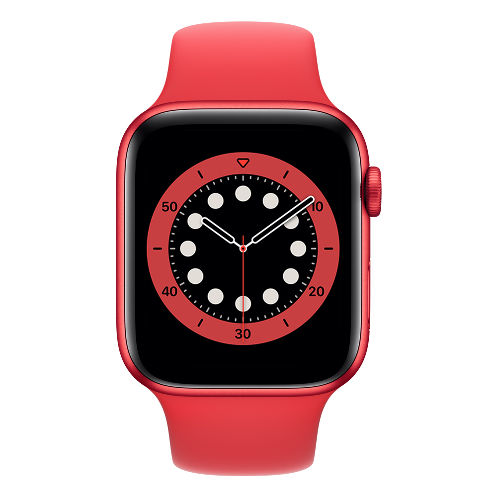Apple Watch M07K3LZ/A S6 GPS+Cell 44mm Alum (PRODUCT)RED Corr Dep Roja